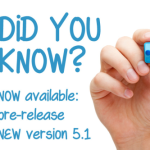Latest pre-release new version 5.1 now available
