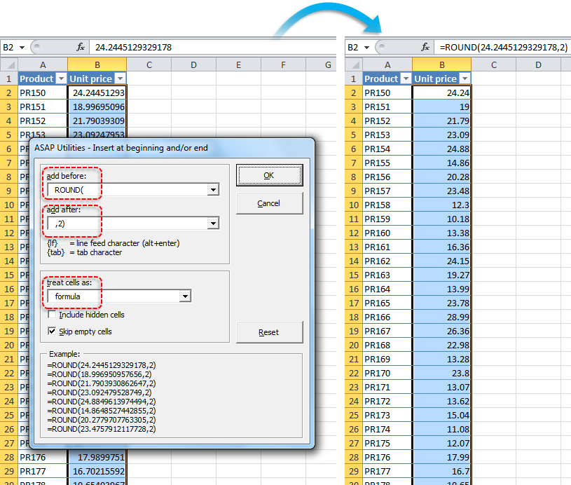 asap utilities for excel  u2013 blog  u00bb tip  quickly round the
