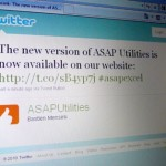 The new version of ASAP Utilities is now available on our website: http://t.co/sB4yp7j #asapexcel