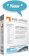 ASAP Utilities new version 4.2.2