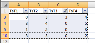 Excel 2007, copy filtered cells only