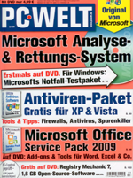 Cover of computer magazine PC Welt 3/09