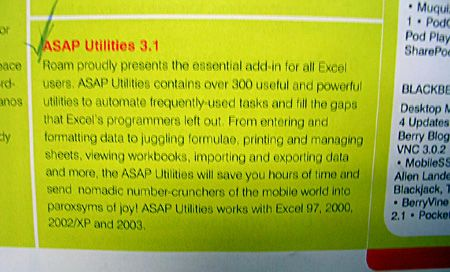 Roam Magazine presents the essential add-in for all Excel users