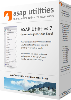 Ediblewildsus  Pretty Asap Utilities For Excel  The Popular Addin For Excel Users  With Outstanding How It Makes You Rock In Excel With Astounding Excel Checksum Also How To Use Mid Function In Excel In Addition Convert Datetime To Date In Excel And Excel Advance As Well As Vba Excel Range Cells Additionally Excel Catalog Template From Asaputilitiescom With Ediblewildsus  Outstanding Asap Utilities For Excel  The Popular Addin For Excel Users  With Astounding How It Makes You Rock In Excel And Pretty Excel Checksum Also How To Use Mid Function In Excel In Addition Convert Datetime To Date In Excel From Asaputilitiescom
