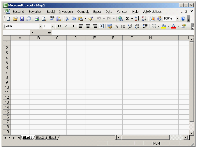 Excel 2003 - Dutch