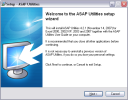screenshot: Welcome to the ASAP Utilities setup