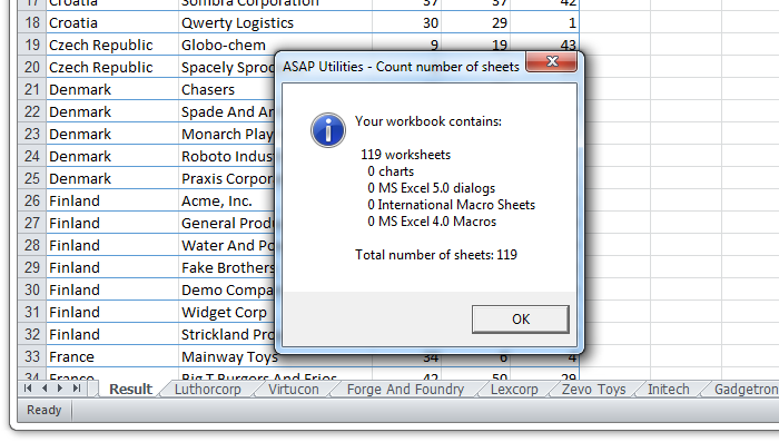 Information » Count number of sheets