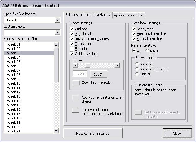 Vision Control