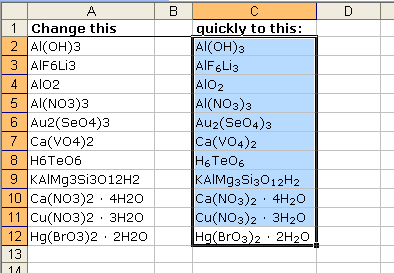 excel how to turn equation into number