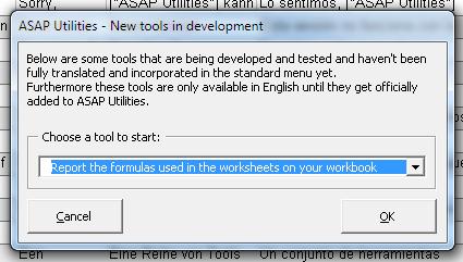 Report formulas