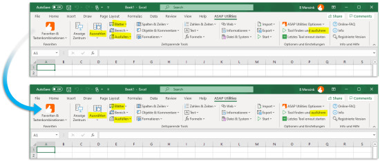 Excel with ASAP Utilities