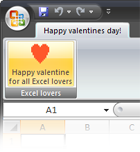 Happy valentine's day for all Excel lovers!